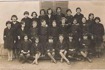 Ecole des filles CM2 1931