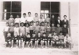 Classe primaire garçons 1955