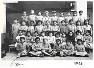 Ecole des filles 1955