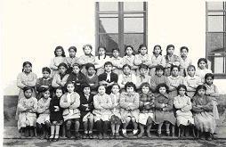 Ecole des filles 1957