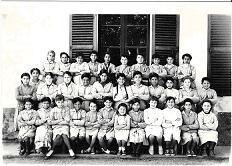 Ecole des filles 1958