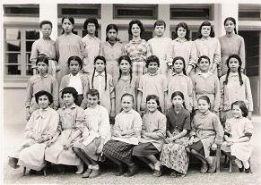 Classe primaire filles 1959