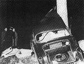 Photo de l`accident de Camus