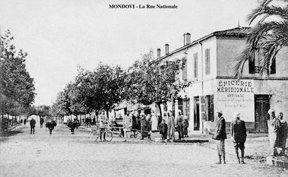 Carrefour route de Penthièvre et de Barral.