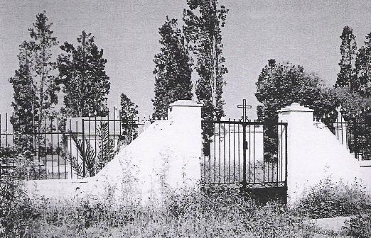 L`entée du cimetière