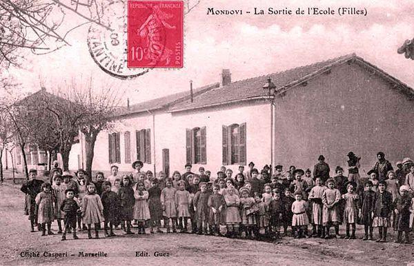 L`école des filles.