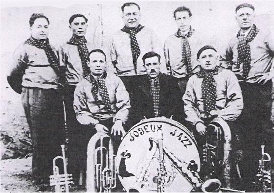L`orchestre des années 40